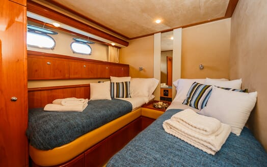 Motor Yacht Quo Vadis I Twin Stateroom