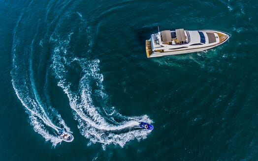 Motor Yacht Quo Vadis I Aerial Toys
