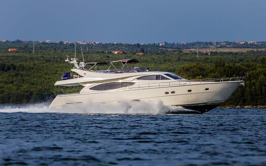 Motor Yacht Quo Vadis I Underway
