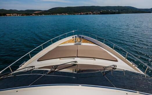 Motor Yacht Quo Vadis I Bow
