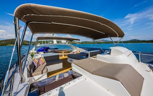 Motor Yacht Quo Vadis I Sun Deck