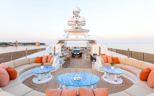 Motor Yacht LUCKY LADY Sun Deck