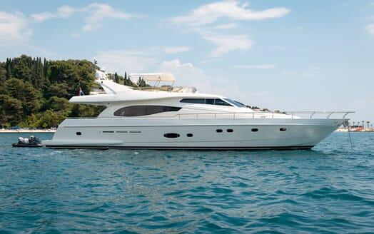 Motor Yacht Marino Anchored