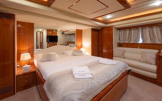 Motor Yacht Marino Master Stateroom 2