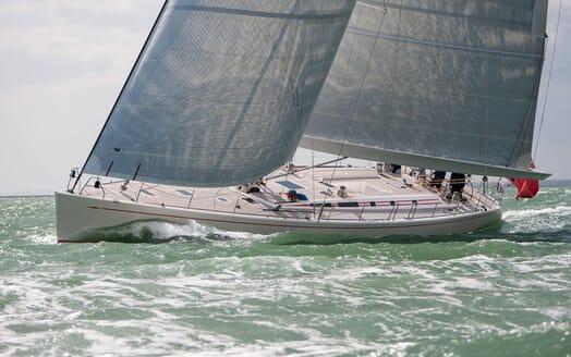 Sailing Yacht ISLAND FLING Underway