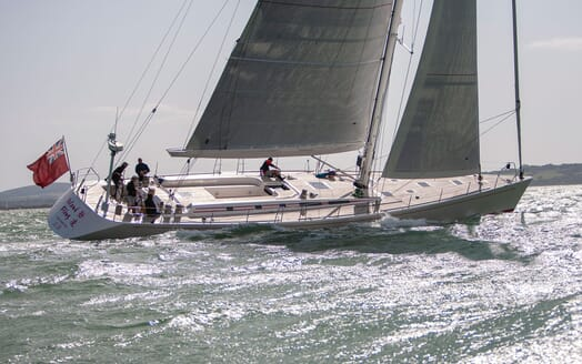 Sailing Yacht ISLAND FLING Moving
