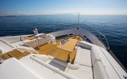 Motor Yacht CAMPO VERDE Bow Seating