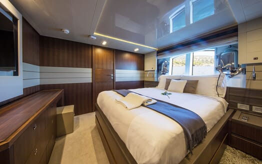 Motor Yacht CAMPO VERDE Guest Double Stateroom