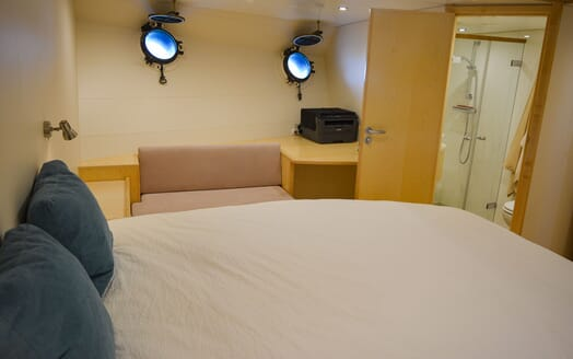 Motor Yacht ELENA Guest Stateroom