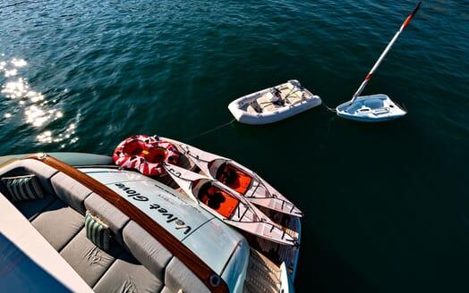 Motor Yacht VELVET GLOVE Aft Toys