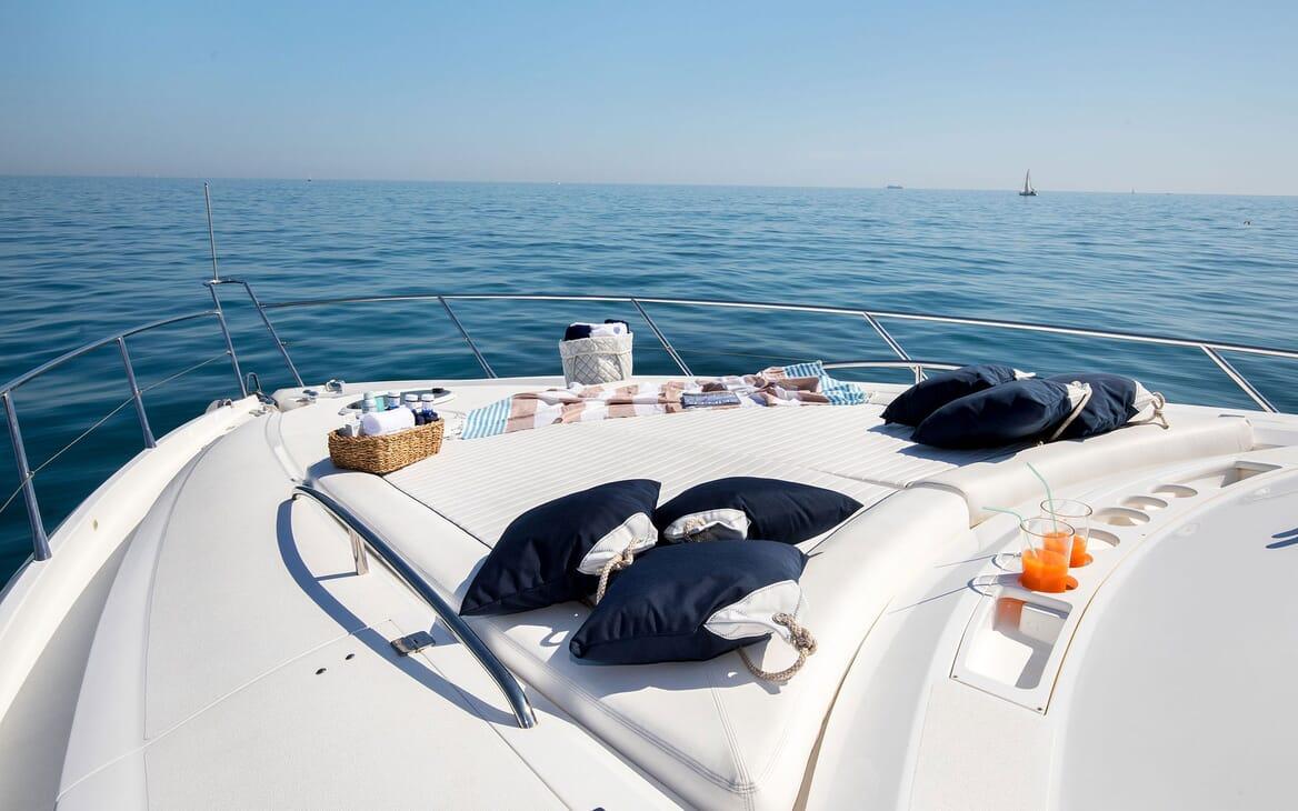 Motor Yacht MEDITERRANI IV Bow Sun Pad