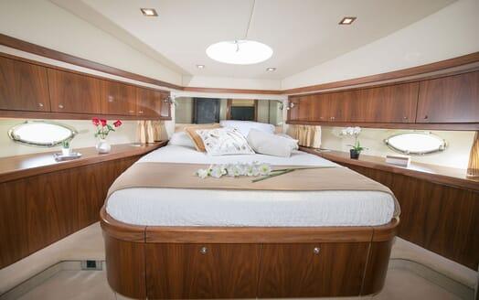 Motor Yacht MEDITERRANI IV Full Beam Guest Double Stateroom]