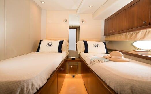 Motor Yacht MEDITERRANI IV Twin Guest Stateroom