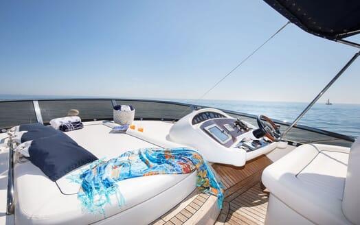 Motor Yacht MEDITERRANI IV Forward Sun Deck