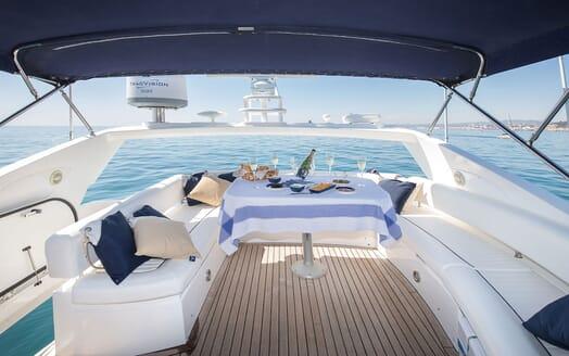 Motor Yacht MEDITERRANI IV Sun Deck DIning