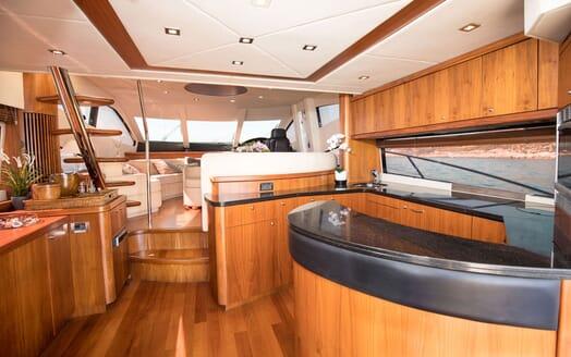 Motor Yacht MEDITERRANI IV Galley