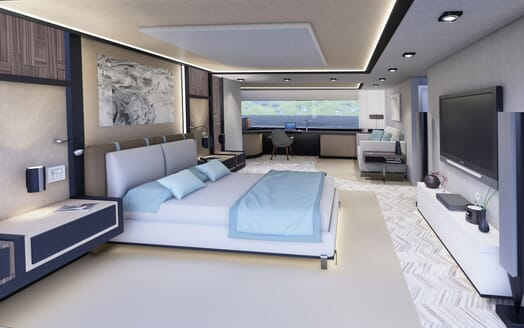 Motor Yacht PROJECT SAPPHIRE Double Stateroom