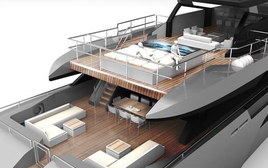 Motor Yacht PROJECT SAPPHIRE Aft Decks