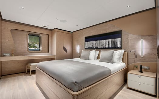 Sailing Yacht ALL ABOUT U 2 Guest Double Stateroom 1