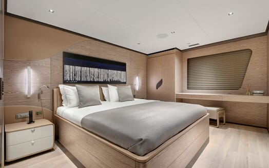 Sailing Yacht ALL ABOUT U 2 Guest Double Stateroom 2