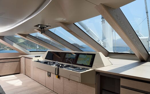 Sailing Yacht ALL ABOUT U 2 Main Deck Wheelhouse