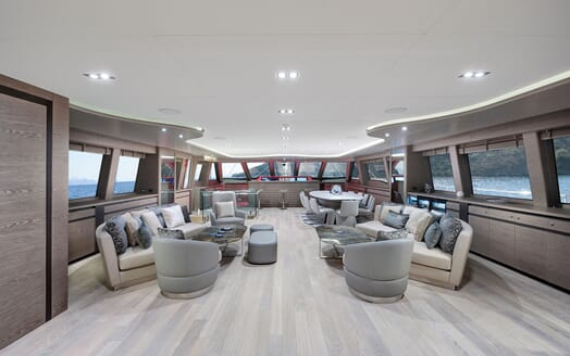 Sailing Yacht ALL ABOUT U 2 Main Deck Saloon
