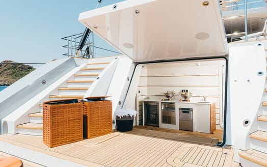 Sailing Yacht ALL ABOUT U 2 Aft Deck Opening
