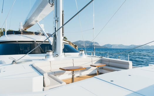 Sailing Yacht ALL ABOUT U 2 Bow Seating