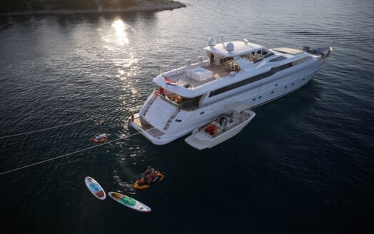 Motor Yacht Princess Lona Tenders and Toys