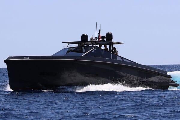 Motor Yacht CLEA underway