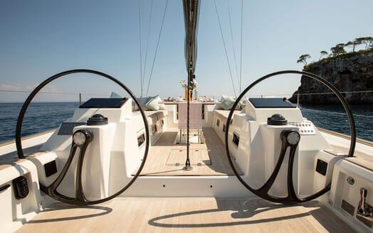 Sailing Yacht MIYABI Wheels