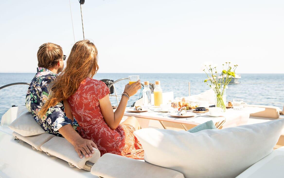Sailing Yacht MIYABI Lifestyle