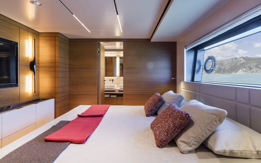 Motor Yacht CIAO First Guest Double Stateroom