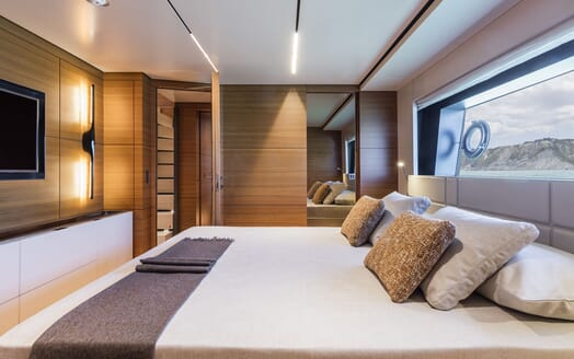 Motor Yacht CIAO Second Guest Double Stateroom