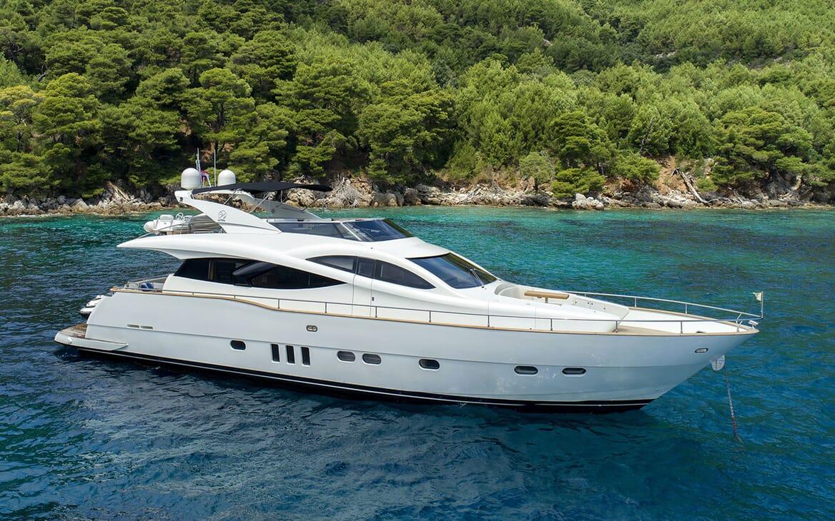 Motor Yacht SALT profile