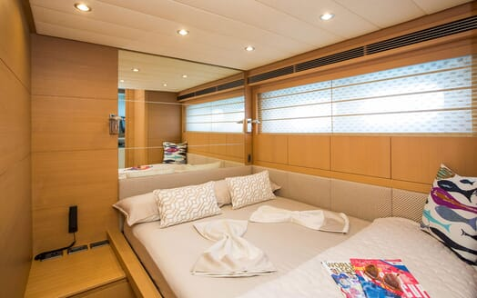 Motor Yacht SALT Guest Double Stateroom