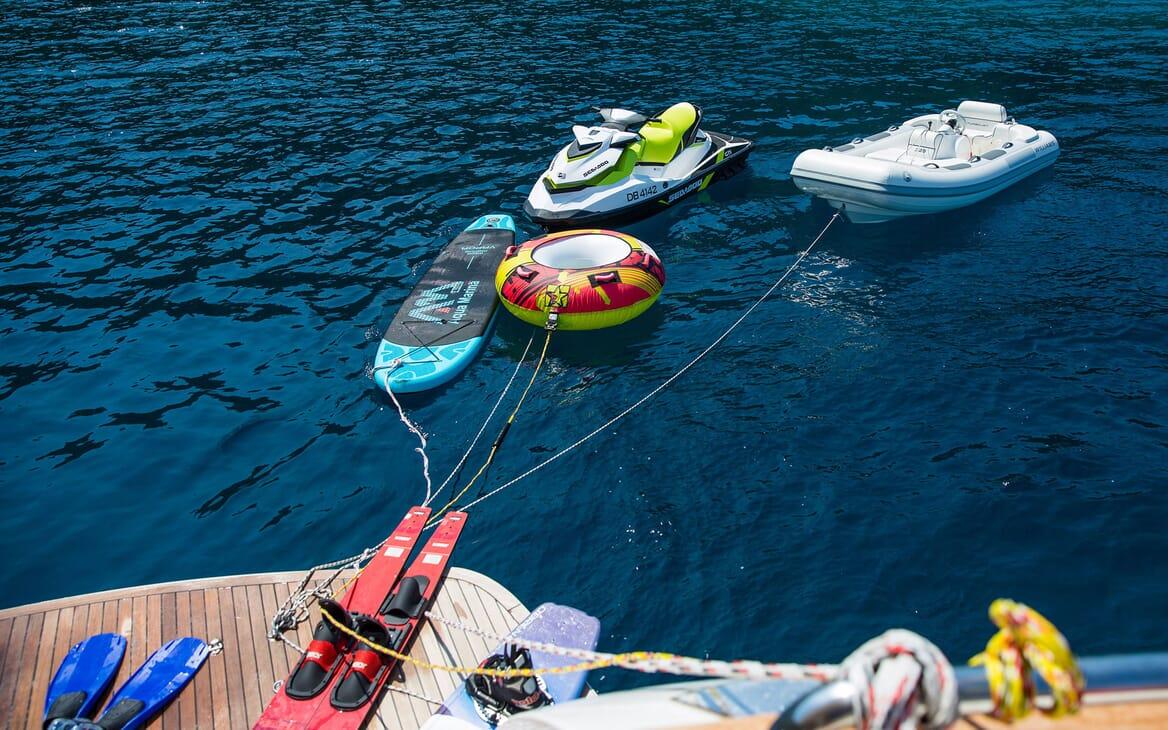Motor Yacht SALT Tender and Toys
