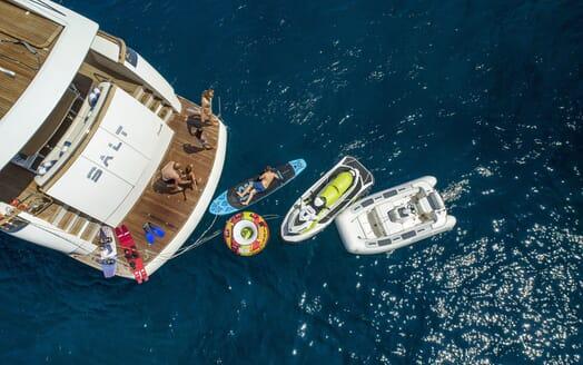 Motor Yacht SALT Aft Toys