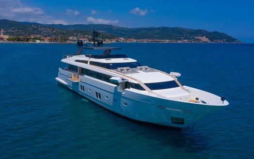 Motor Yacht ANDINORIA Galley