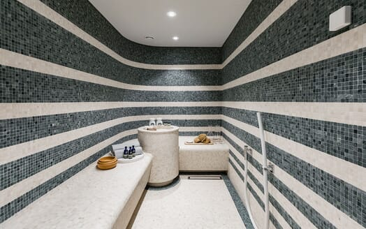 Motor Yacht SOARING Steam Room / Sauna