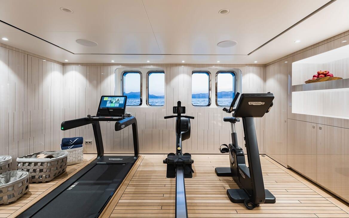 Motor Yacht SOARING Gym