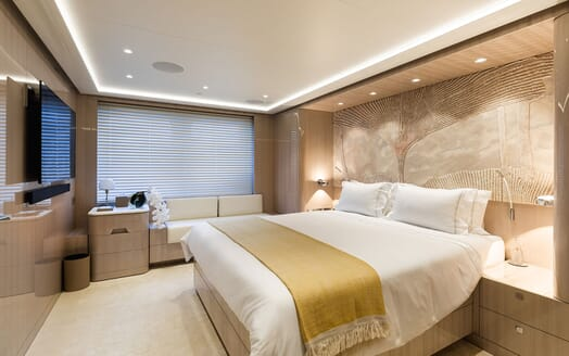 Motor Yacht SOARING VIP Guest Double Stateroom