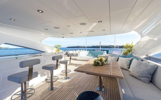 Motor Yacht ANGELUS Sun Deck