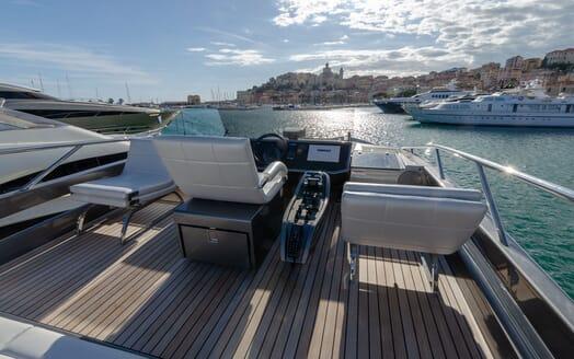 Motor Yacht BAGHEERA Sun Deck Wheelhouse