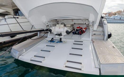 Motor Yacht BAGHEERA Tender and Toys