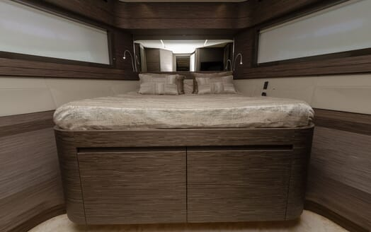 Motor Yacht BAGHEERA Guest Double Stateroom