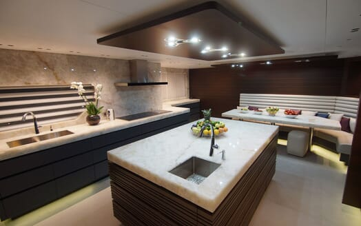 Motor Yacht BABA'S Galley