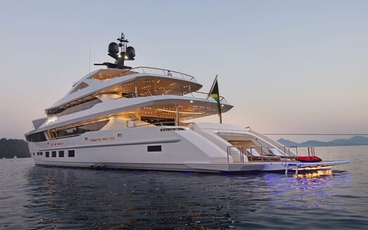 Motor Yacht BABA'S Exterior Swim Platform