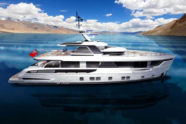 Motor Yacht DYNAMIQ G350 Profile