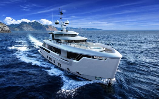Motor Yacht DYNAMIQ G350 Underway